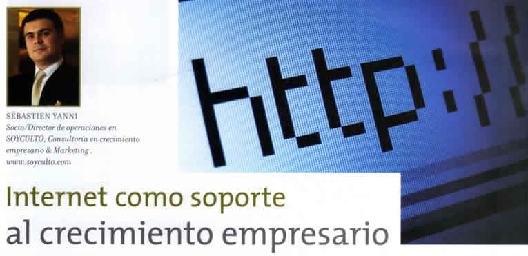 Internet Como Soporte al Crecimiento Empresario