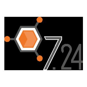 7.24 logo